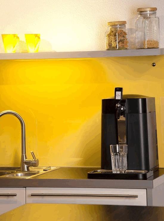 Aqality trinkwasserspender mit kohlensaure wasserfilter for Fettl ser küche