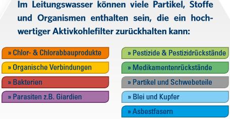 Carbonit Filtereinsatz