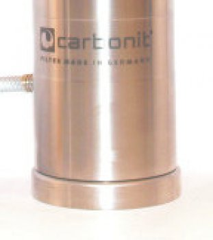 Carbonit SANUNO inox F filter