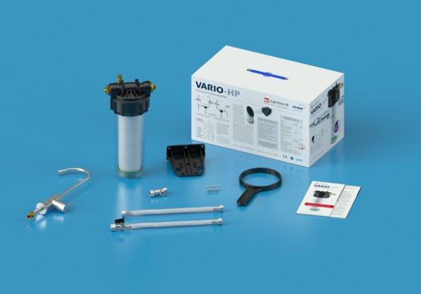 SanUno Wasserfilter Carbonit Auftischwasserfilter